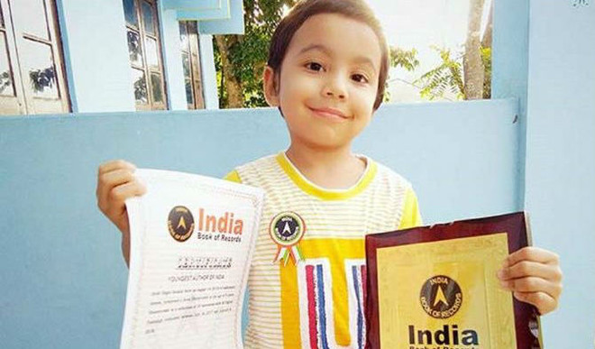 Meet The 4YO Who Is Now India's Youngest Author