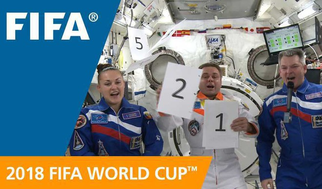 Watch FIFA Fever In Space