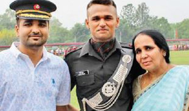 Kargil Martyr's Son Joins Dad's Battalion