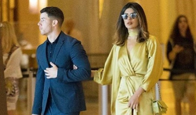 Priyanka Attends Jonas' Cousin's Wedding