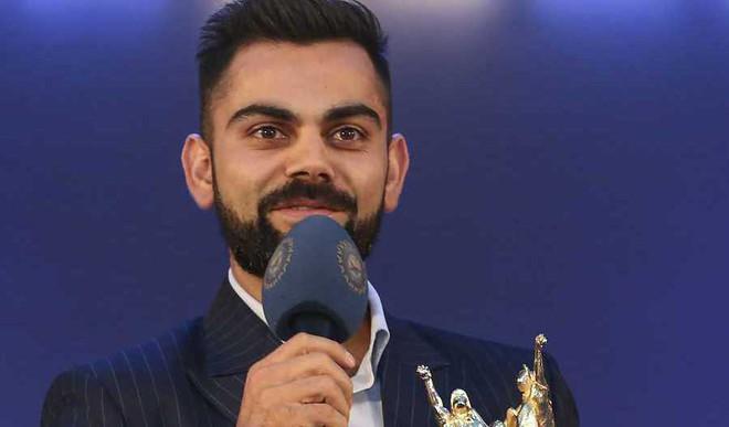Kohli Wins BCCI Best Cricketer Award