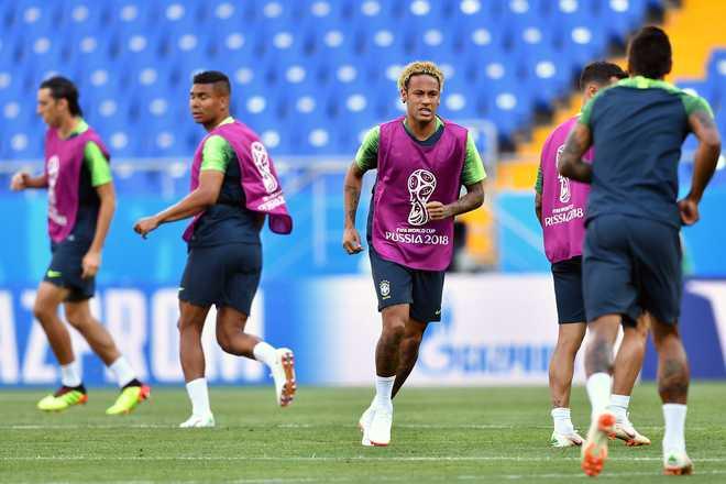 Brazil Kick Off Quest For Redemption