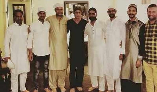 SRK Celebrated Eid In Orlando