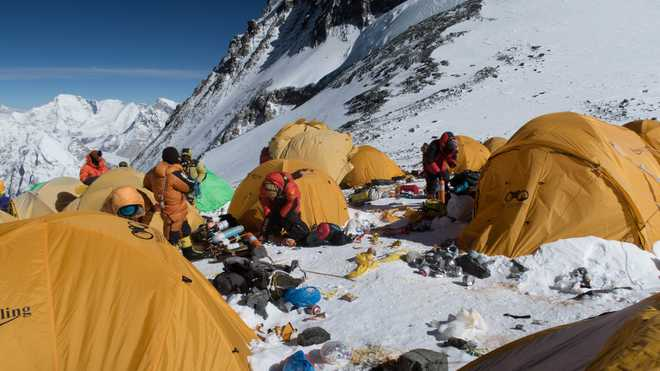 Mt Everest Is Highest Rubbish Dump