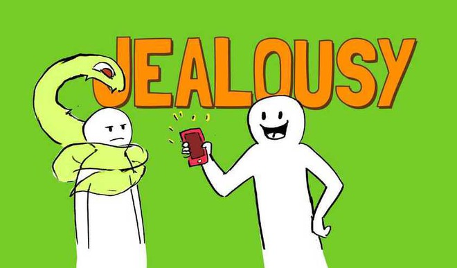 Jealousy Is A Natural Human Emotion.
