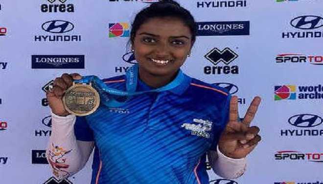 Deepika Wins Gold At World Cup Event