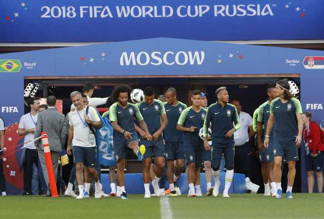 Brazil Face Serbia Test At World Cup