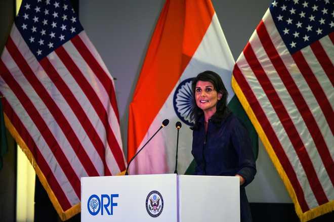 Nikki Haley Talks Tough On Iran Import Curbs