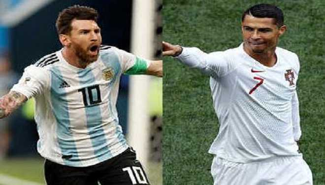 World Cup's Over For Messi, Ronaldo