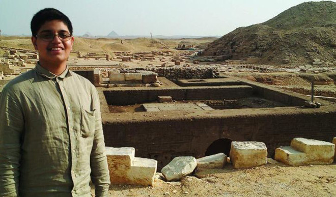 17-Year-Old Arsh Ali Is India's Youngest Archaeologist