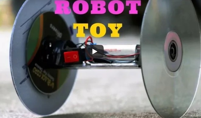 Make A Robot Toy
