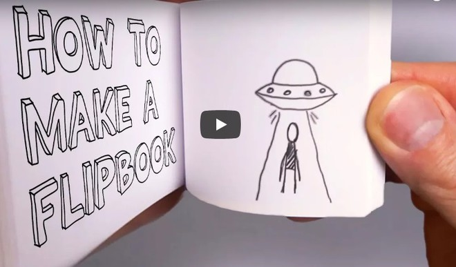 Here's How You Make A Flipbook