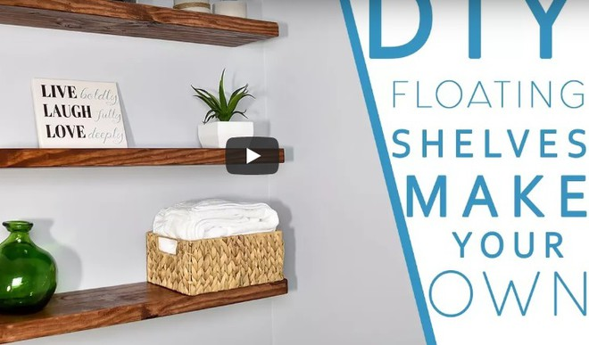 How To Make A Floating Shelf