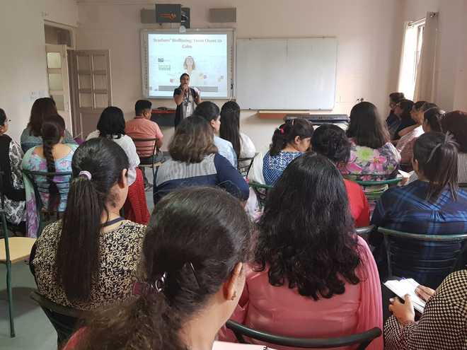 Teachers Attend Session On Wellbeing