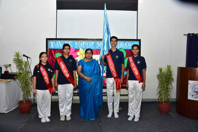 Investiture Ceremony Of School Council Held
