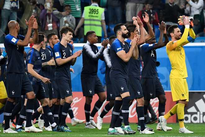 Les Bleus Head To World Cup Final