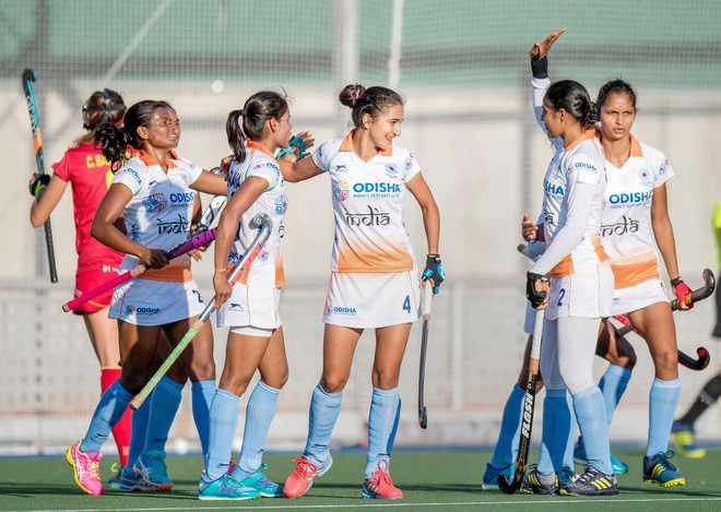 India Women Gear For Hockey WC