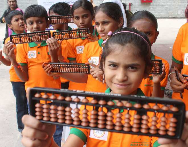 Yashmitha: Learning Abacus Improves Maths