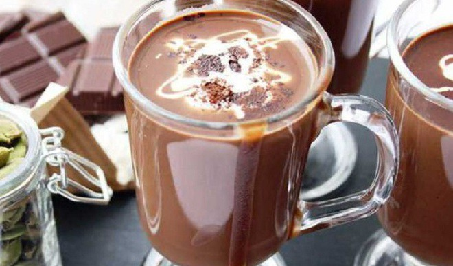 Hot Chocolate For Rainy Weekend