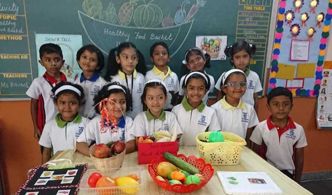 Students understand the value of fruits & veggies