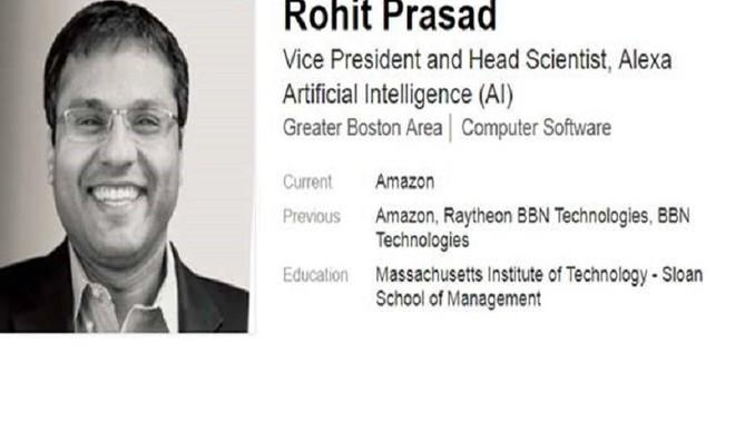 Indian Engineer Is The Brain Behind Alexa