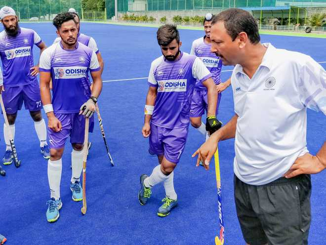 Hockey Coach Targets WC Win At Home