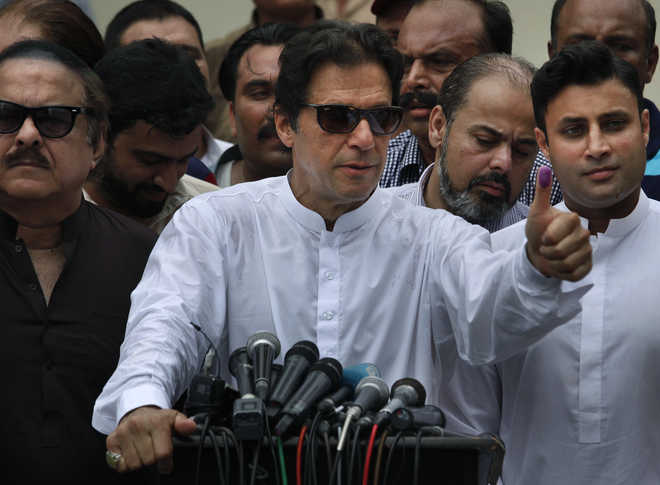 Khan Votes, Hoping To Become Pak's Next PM