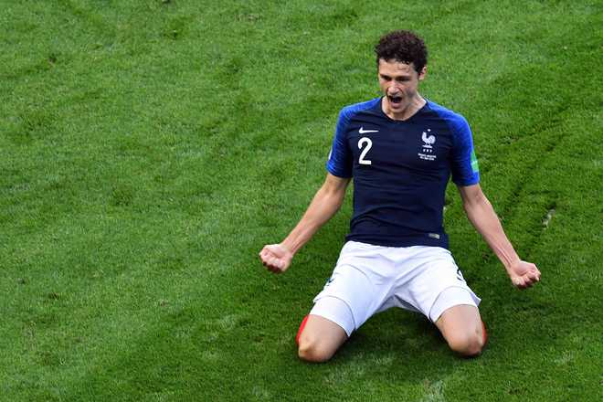 Pavard Wins Goal Of Tournament At WC
