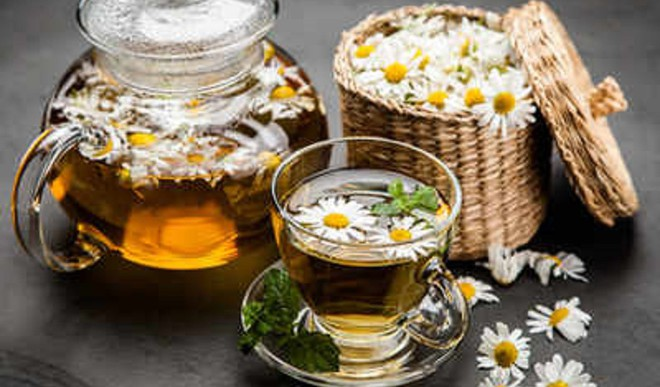 Ginger Cinnamon Chamomile Tea