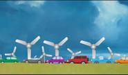 Wind Turbine Generates Energy From Traffic