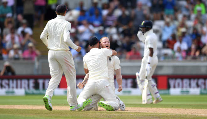 What We Learnt From India, Eng Test