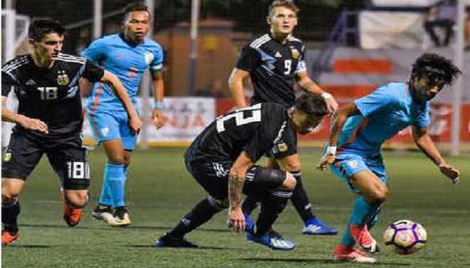 India Colts Stun Argentina, Iraq