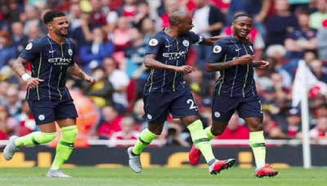 Man C Begin Title Defence In Style