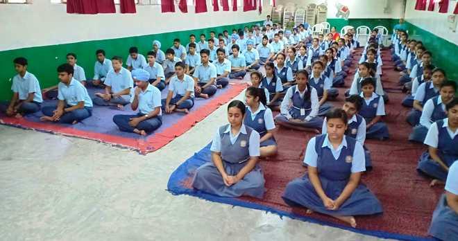 Anapanasati Meditation Session Held