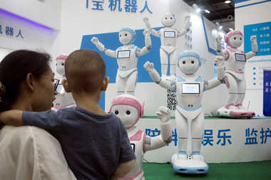 Robots May Affect Children's Opinions