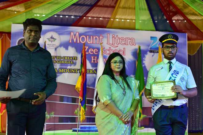 Investiture Ceremony At Mount Litera Zee School Howrah