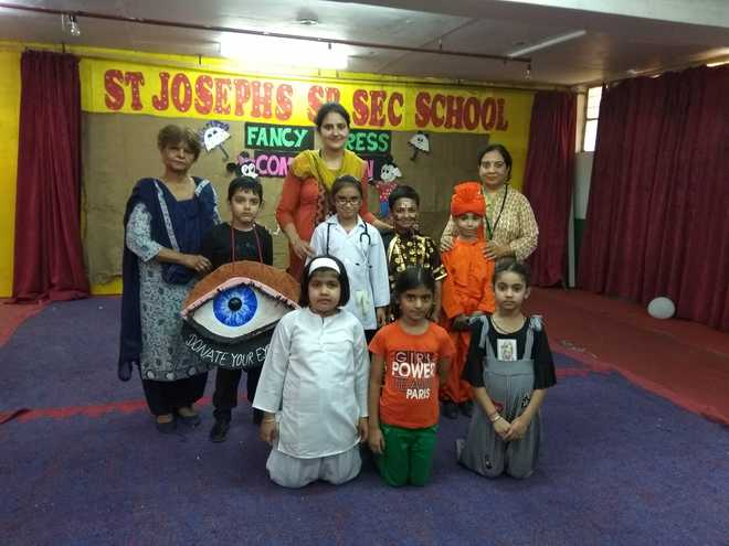 Kids Show Creativity At Fancy Dress Contest