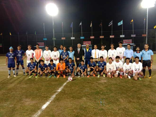 Bhupinder Singh Memorial Soccer Tourney Begins