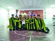Kabirians dominate at SRIJAN 2018!!