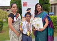 Aarav Adds 18 Olympiad Awards To His Kitty