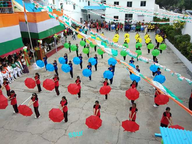 Independence Day at The Aryans School