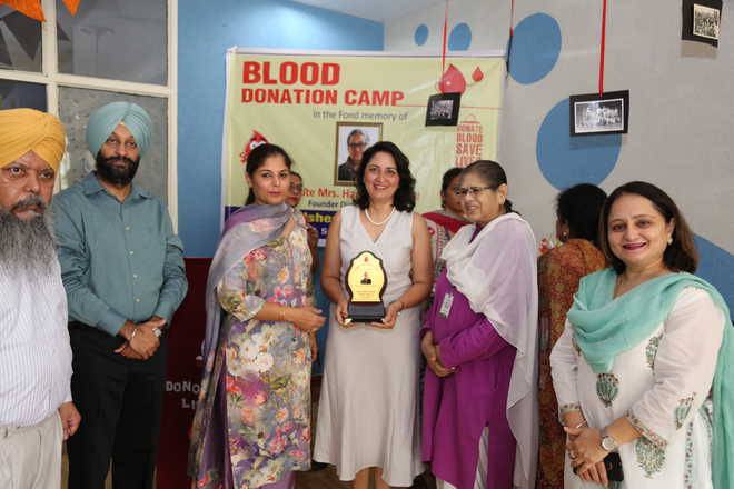 Blood Donation Camp Held