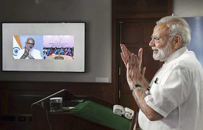 PM Announces 'Swachhata Hi Seva Movement'