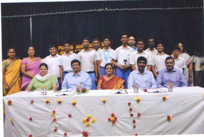 Installation of Interact Club in Gill Adarsh