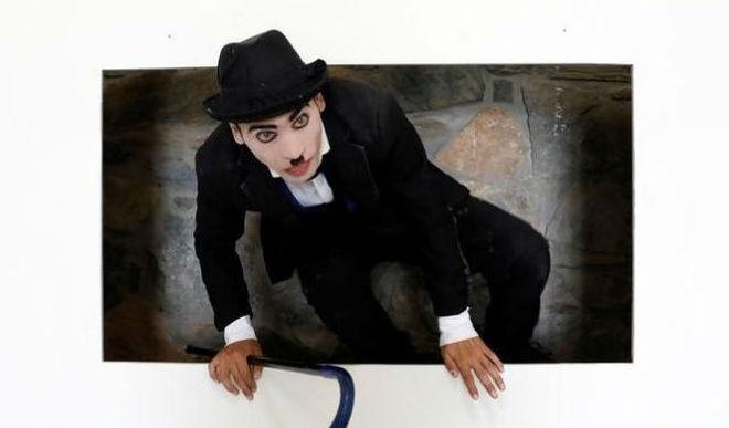 Meet The Charlie Chaplin Of The War-Torn Afghanistan