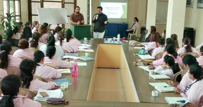 Satluj Conducts Seminar For Teachers