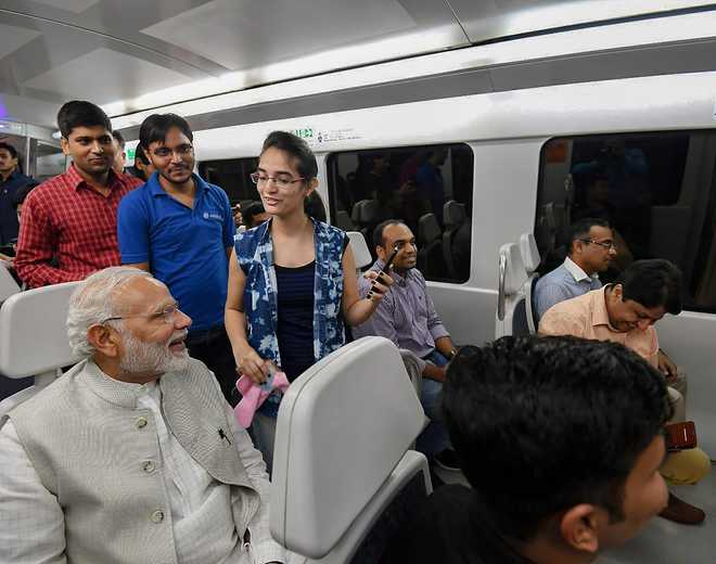 PM Modi Takes A Ride On The Delhi Metro, Every Now And Then. Do You Think He Wants To Bond With Common People Or Is It A Strategy To Project Himself As The Son Of The Soil?