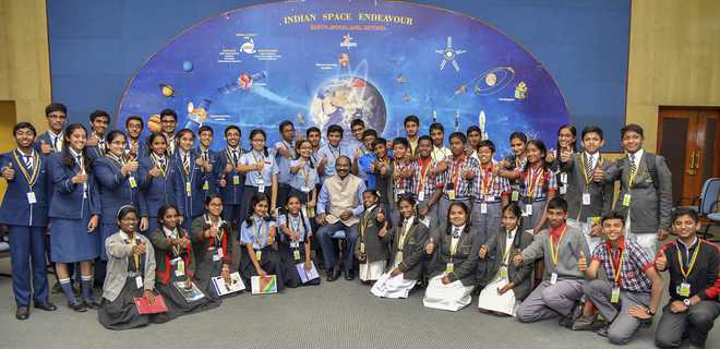 ISRO Launches 'Samwad With Students'