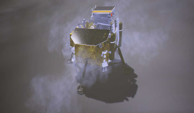 China's Chang'e 4 Makes A Historic Touchdown On Moon