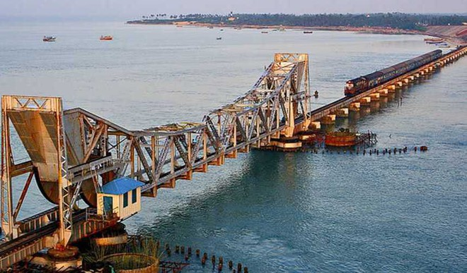 India's First Vertical-Lift Bridge